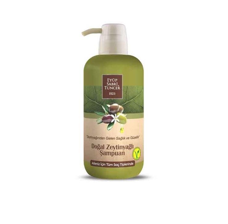 شامپو زیتون ایوب 600ml مناسب برای انواع مو