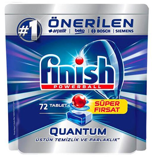 قرص ماشین ظرفشویی فینیش کوانتوم 72 عددی finish quantum