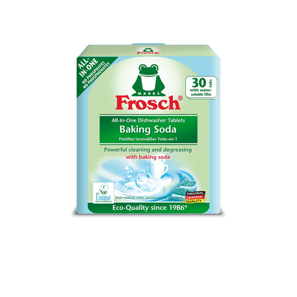 قرص ماشین ظرفشویی 30 تایی محصول Frosch آلمان