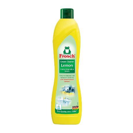 پاک کننده روشویی و اجاق گاز کرمی Frosch با رایحه لیمو 500 میل