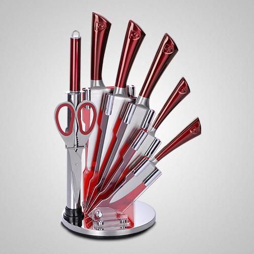 سرویس چاقوی 8 پارچه استیل رویالتی لاین