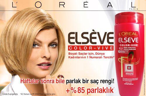 شامپو موهای رنگ شده لورال Elseve مدل Color Vive حجم 550 میل ...