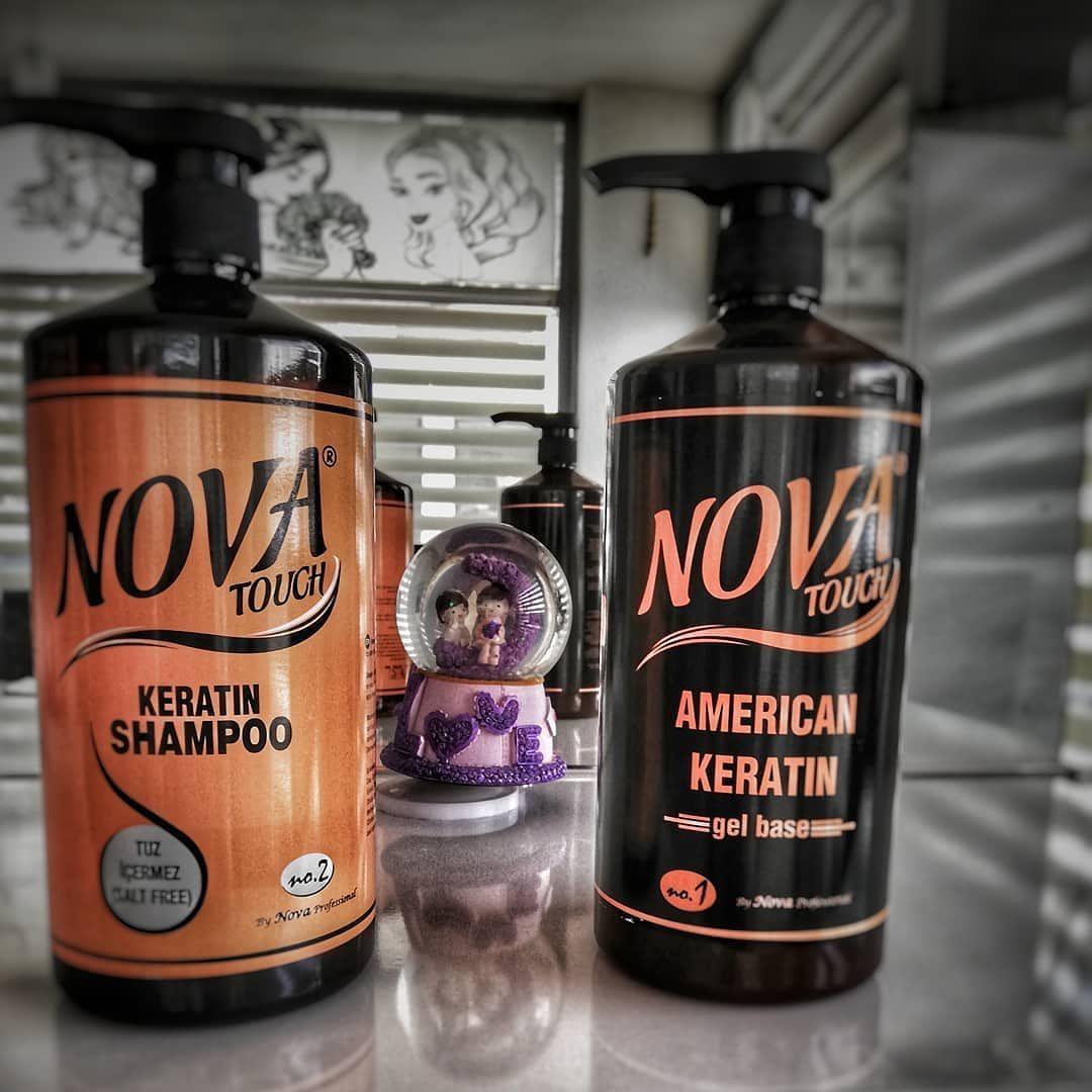 ژل کراتین برزیلی NOVA حجم 1000 میلی ساخت آمریکا