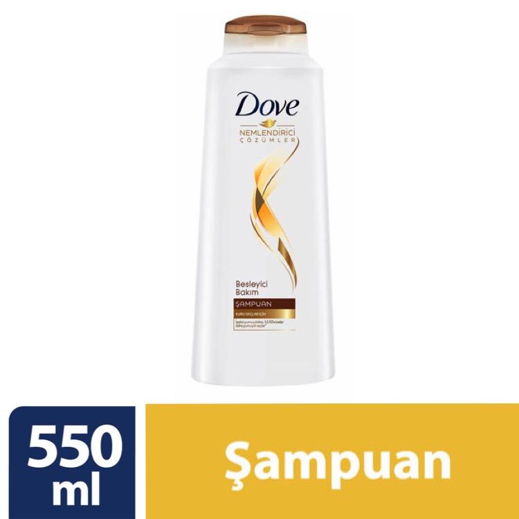 شامپو تغذیه کننده موی سر داو مدل besleyici bakim حجم 550ml