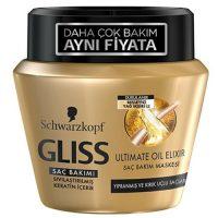 خرید ماسک موی داخل حمام رنگ طلایی گیلیس ترکیه