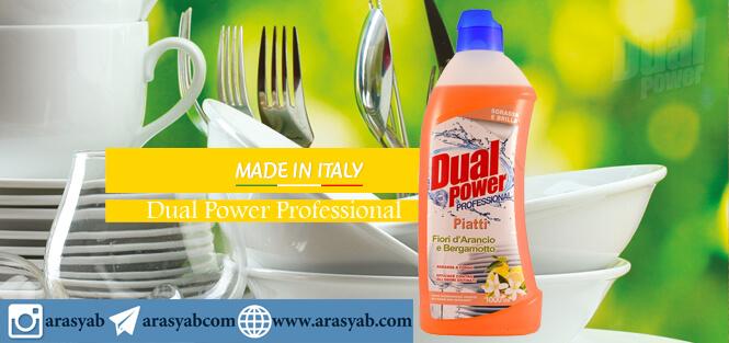 مایع ظرفشویی Dual Power مدل Piatti با رایحه شکوفه پرتقال و ترنج حجم 1 لیتر