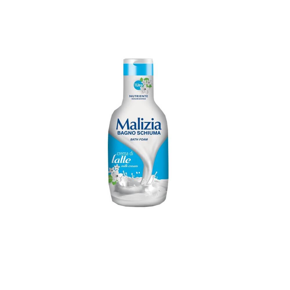 شامپو بدن کرمی با عصاره شیر  Malizia حجم 1 لیتر