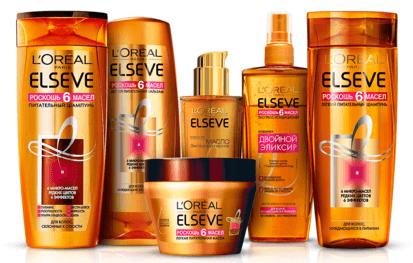 لیست بهترین محصولات لورال ELSEVE