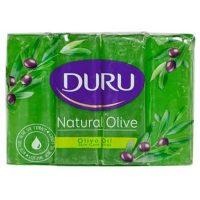 صابون استحمام مدل Natural Olive عصاره روغن زیتون 4 عددی DURU