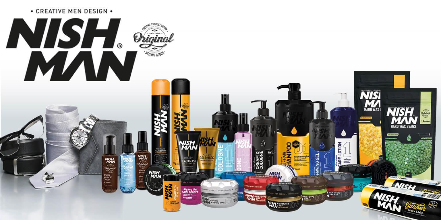 محصولات آرایشگری مردانه