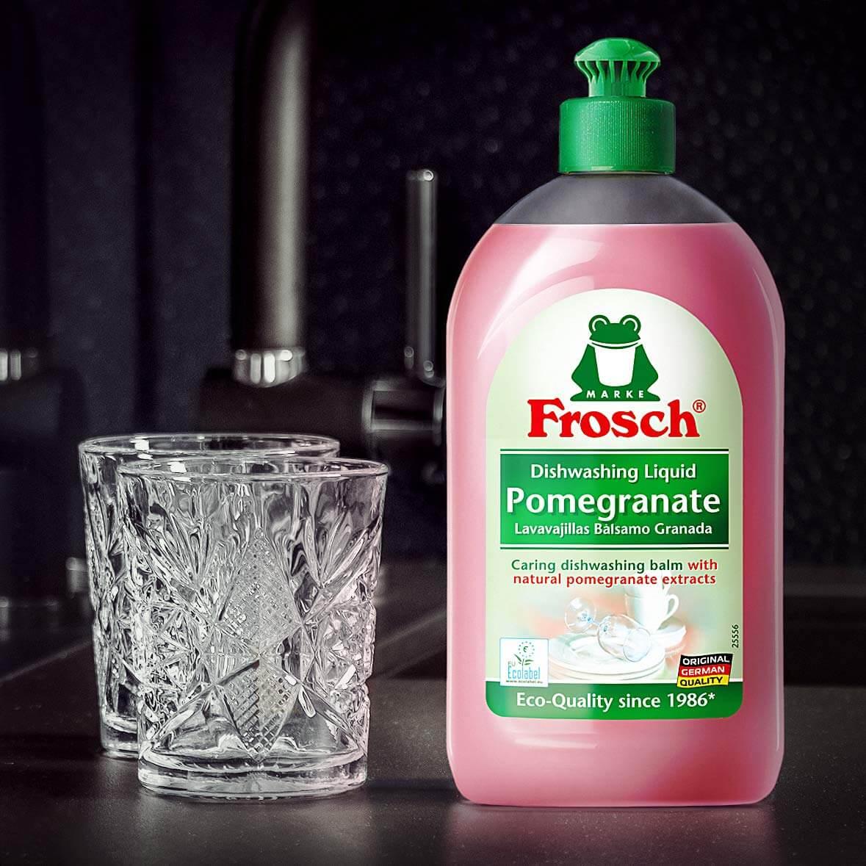 مایع ظرفشویی عصاره انار Frosch حجم 500 میلی