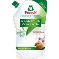 صابون مایع کرمی Frosch با رایحه بادام حجم 500 میلی