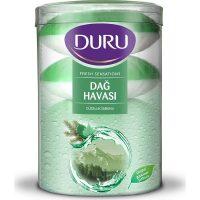 صابون حمام لیوانی دو رنگ هوای کوهستان دورو DURU Dag Havasi بسته 4 عددی