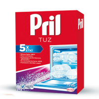 نمک مخصوص ماشین ظرف شویی 5 کاره Pril حجم 1.5 کیلو