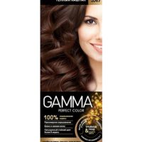 رنگ موی بدون آمونیاک gamma شماره 5/47 رنگ بلوطی