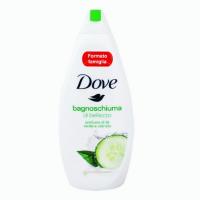 شامپو بدن داو Dove با رایحه ی خیار و چای سبز حجم 700 میلی