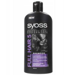 شامپو سایوس تقویت کننده مو مدل Full Hair 5 حجم 500 میلی