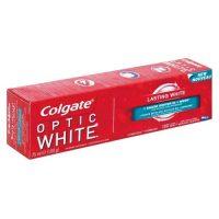 خمیر دندان کلگیت Colgate مدل Optic White Lasting whiteحجم 100 میل