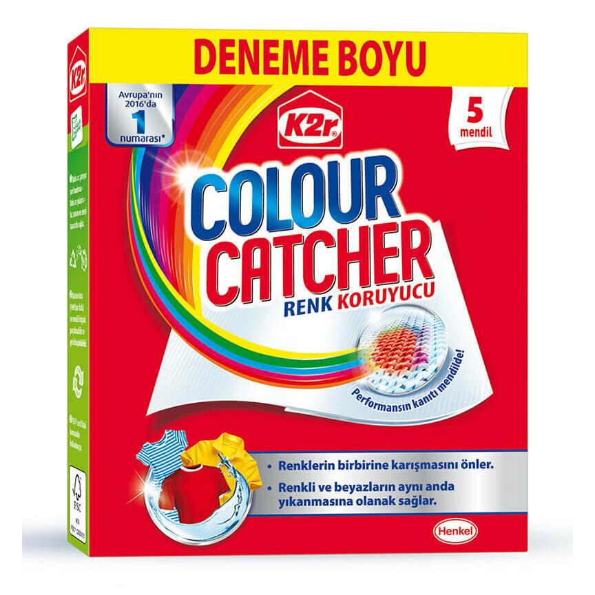دستمال محافظ رنگ لباسها مدل Color Catcher پنج عددی
