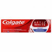 خمیر دندان کلگیت Colgate اپتیک وایت مدل Instant حجم 75 میل