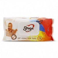 دستمال مرطوب کودک SHUGA شوگا 120 عددی
