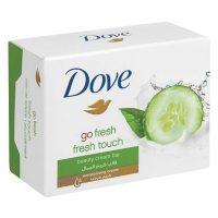 صابون خیار و چای سبز داو dove مدل Go Fresh حجم 100 گرم