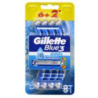 ژیلت مدل Blue 3 Cool مدل Comfort بسته 8 عددی