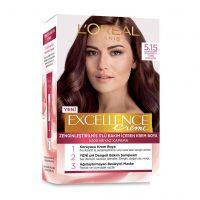 رنگ موی شماره 5.15 لورال رنگ قهوه ای (قهوه ترکی افسانه ای) سری Excellence