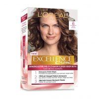 رنگ موی شماره 6 لورال رنگ قهوه ای روشن سری Excellence