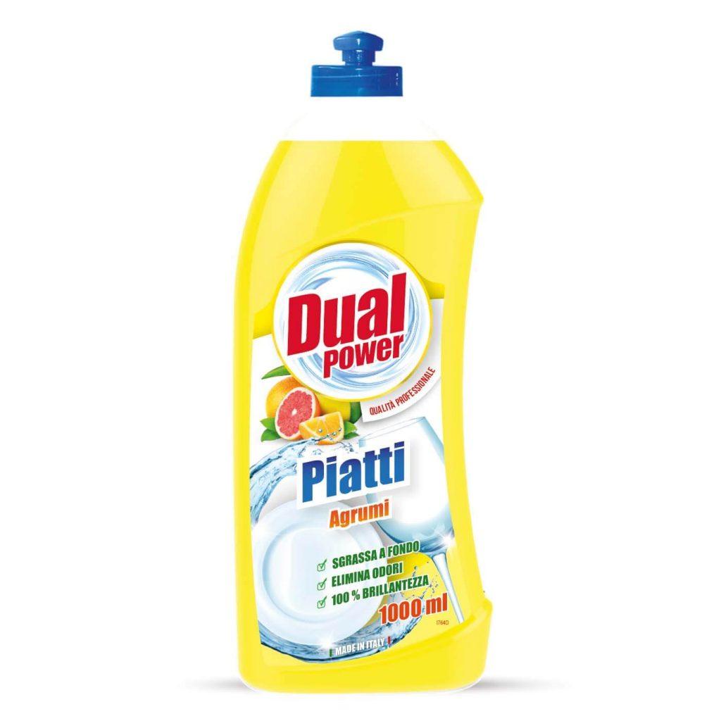 مایع ظرفشویی دوال پاور مدل Piatti با رایحه مرکبات حجم 1 لیتر