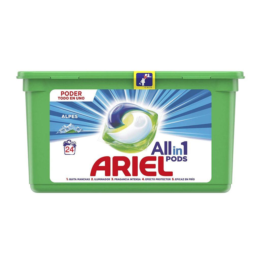 قرص ماشین لباسشویی آریل ALL IN ONE Pods تعداد 24 عددی