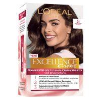 رنگ موی شماره 5 لورال رنگ قهوه ای سری Excellence