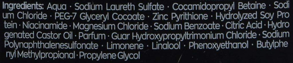 ترکیبات شامپوی ضد شوره مردانه شوما