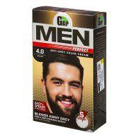 رنگ موی مردانه GAP شماره 4.0 رنگ قهوه ای طبیعی مدل Men Perfect