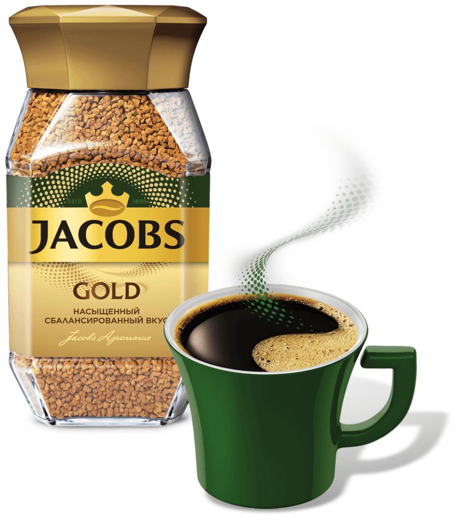 قهوه فوری جاکوبز گلد Jacobs Gold وزن 190 گرمی