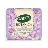 صابون دوش Dalan Botanica با رایحه گل لوتوس بسته 4* 150 گرمی