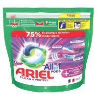 قرص لباسشویی همه کاره Ariel مدل Clean & Protect ساخت فرانسه تعداد 40 عددي
