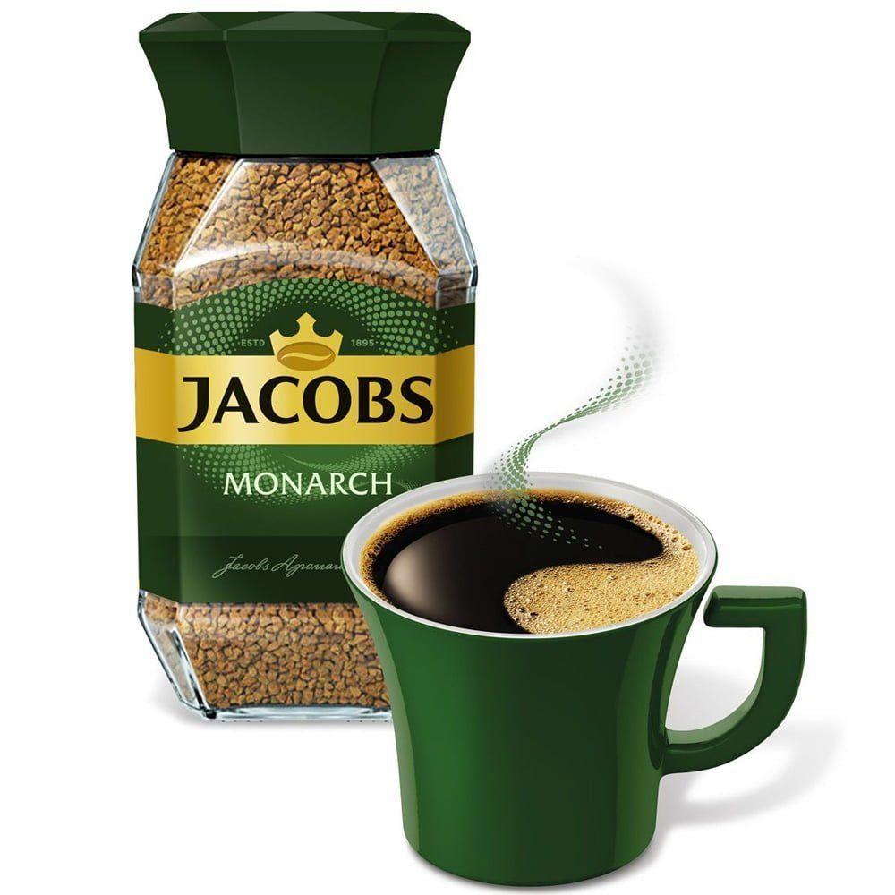 قهوه فوری جاکوبز مونارک Jacobs Monarch وزن ۱۹۰ گرمی