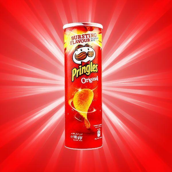 چیپس ساده پرینگلز مدل اورجینال Pringles Original بسته 165 گرمی