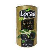 خرید زیتون سیاه لوراس اصل دانه بزرگ