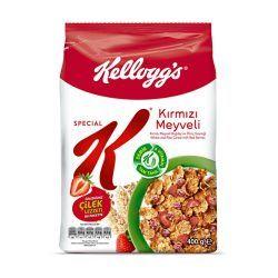 کورن فلکس اسپشیال K میوه های قرمز وزن 400 گرم
