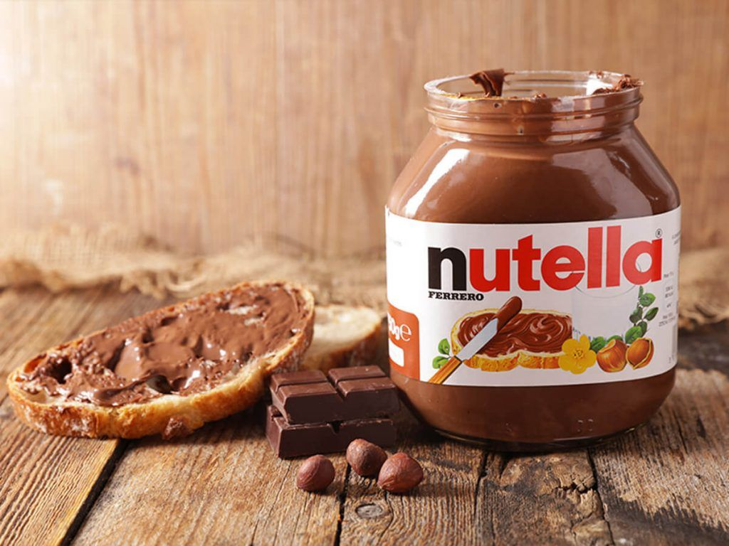 شکلات صبحانه فندقی نوتلا nutella حجم 750 گرمی