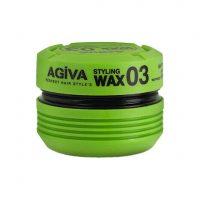 واکس مو سبز آگیوا Agiva مدل STYLING WAX 03 حجم 175 میلی