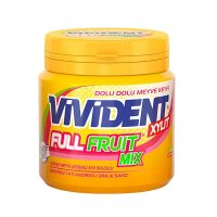 آدامس ویویدنت میکس میوه مدل FUll Fruit Mix وزن 90 گرم